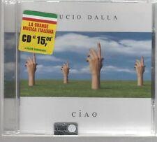 LUCIO DALLA CIAO CD MADE IN ITALY SIGILLATO!!!
