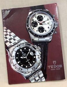 TUDOR Catalogue 1998 - 1999 Submariner Mini-Sub Chrono Diver Date+Day Bracelets/