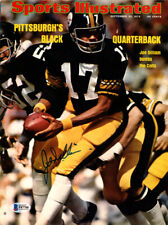 Joe Gilliam Autographed Signed Sports Illustrated Cover Steelers Beckett #F87766