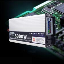 NEW 5KW 24V DC to 220V AC Sine Wave power Inverter RV/Truck/Car/Home Solar