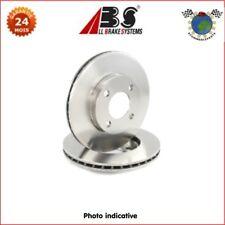 Kit disques frein Abs avant RENAULT RODEO 18 15 12 6 5 4 DACIA 1310 1300