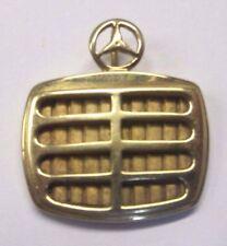 10k Yellow Gold Mercedes Benz Pendant