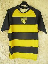 Maillot rugby STADE ROCHELAIS ATLANTIQUE LA ROCHELLE jaune noir L
