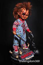 EVIL CHUCKY life size doll 1:1 Custom Statue Diorama Nt Sideshow Predator One of