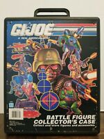 1991 Hasbro GI Joe Battle Figure Collector's Case Action Figure Case Vintage
