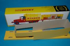 COFFRET  VIDE CAMION  GMC + REMORQUE  PINDER DINKY TOYS Ref 881  + SES 2 CALES