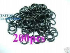 200 x RUBBER O RINGS BAND F/ TATTOO MACHINE GUN