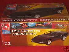 1:25 AMT Plastic Model Kit 1996 Corvette Convertible