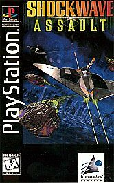 Shockwave Assault (Sony PlayStation 1, 1995) EUC