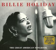 BILLIE HOLIDAY THE GREAT AMERICAN SONGBOOK - 2 CD BOX SET - BLUE MOON & MORE