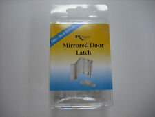 RV - Mirrored Closet Door Latch - Clear Replacement - Set of 2 Included