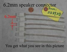 6 6.2mm speaker connectors made for select Sony Samsung LG Philips HT/Plasma TV