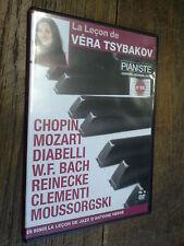 la leçon de Véra Tsybakov  Pianiste n° 66 DVD Chopin Mozart Diabelli Bach Reinec