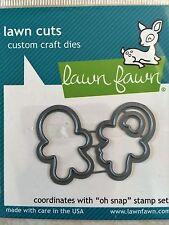 Lawn Fawn Lawn Cuts Custom Craft Die LF984 Oh Snap NEW