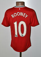 MANCHESTER UNITED 2011/2012 HOME FOOTBALL SHIRT NIKE ROONEY #10 SIZE M ADULT