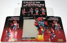 1985 HASBRO TRANSFORMERS G1 PERCEPTOR BOX ONLY GENERATION ONE AUTOBOTS