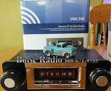 1967-1972 Chevy Truck 300 watt USA-740 AM FM Car Stereo/Radio built-in Bluetooth