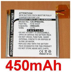 Battery 450mAh Type 616-0337 For APPLE Ipod Nano 3rd Generation (4GB/8GB)