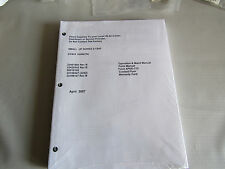 New Ingersoll Rand Small 5-15 HP Air Compressor Operation Parts Manual APDD-772