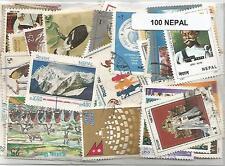 Lot timbres du Nepal