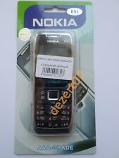 HOUSING NOKIA E51 STEEL + KEYPAD HIGH QUALITY
