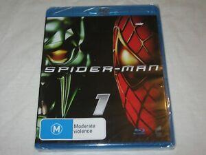 Spider-Man 1 - Brand New & Sealed - Region A, B, C - Blu Ray