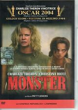 Monster- C.THERON, C.RICCI, Oscar 2004 Film in DVD, 2005, 106 minuti - ST566