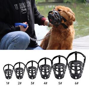 Soft Light Rubber Dog Muzzle Secure Basket for French Bulldog PitBull 6 Sizes