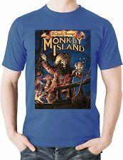 Monkey Island T-Shirt Guybrush LeChucks Revenge Abenteuer Spiel lucasarts Tee