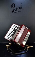 TOP GERMAN PIANO ACCORDION WELTMEISTER STELLA 60 bass~Accordian~Akkordeon@Petrof