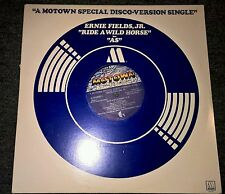 "ERNIE FIELDS JR Ride A Wild Horse 12"" VINYL 2 Track B/W As (M00009D1)"