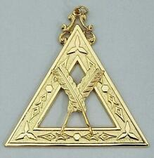 New Freemason Royal Arch Mason Secretary Officer Collar Jewel