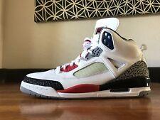 2010 DS Jordan Spizike White/Fire Red- Black 315371 165 RARE