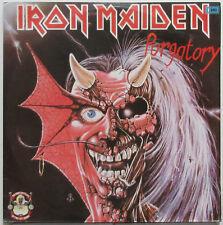 IRON MAIDEN Purgatory/Maiden Japan 1990 COLUMBIA Double LP PROMO Metal VG+