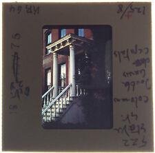 Vtg 35MM Slide 522 State St Brooklyn Heights NYC NY Brick White Columns 1975