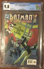 Batman Gotham Adventures #29 CGC 9.8 WP (2000) Early Harley Quinn