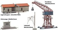 Faller 190065 Goods Station Portal Crane Storage Shed Track Scale Loading Weight