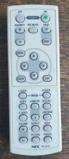 Original NEC Remote Control RD-427E. for Media Projector. Excellent condition.