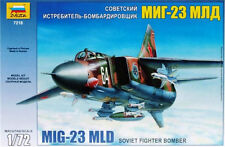 ZVEZDA 7218 SOVIET FIGHTER BOMBER MIG-23MLD SCALE MODEL KIT 1/72 NEW