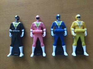 Chikyuu Sentai Fiveman 4-Key Ranger Key Set (US Seller)