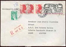 Francia 1982 cubierta registrada #c 26082