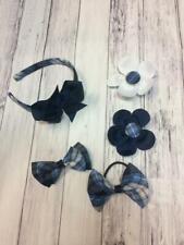 School Uniform Hair Accessories Style 3 Plaid 76 4 pcs
