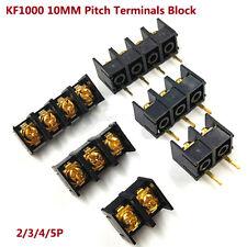 KF1000 10MM Pitch 2/3/4/5P Terminals Block Connector PCB MF1000/DG1000 Splicable
