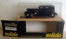 ⓪ Solido Age d'Or ref 97 Renault Reinastella 1/43ème
