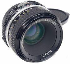 Nikon AI 50 mm f2 Nikkor