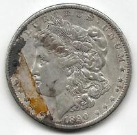 U.S.A. 1 Dolar Morgan 1890 @ Bella pieza @ plata