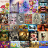 5D Diamond Painting Flower Animal DIY Embroidery Cross Stitch Home Decor Art Kit