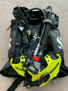 Scubapro Hydros Pro wing bcd with Air2 and crotch strap, Men's Medium