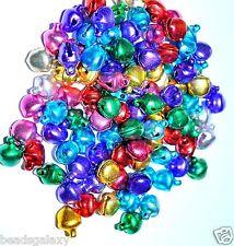 100 Piezas de encantos Campana De Aluminio Multicolor 8 mm *