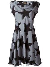 New Designer Vivienne Westwood Anglomalia Antoinette Star Silk Mini Dress 4,$845